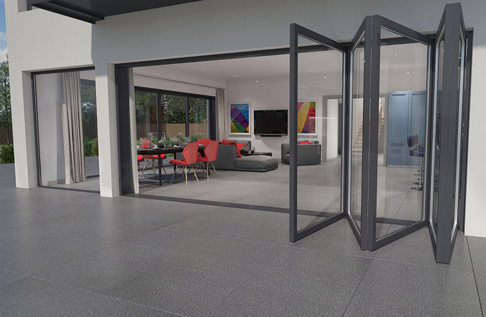 Valverdi Quartz Black Indoor Outdoor Tiles