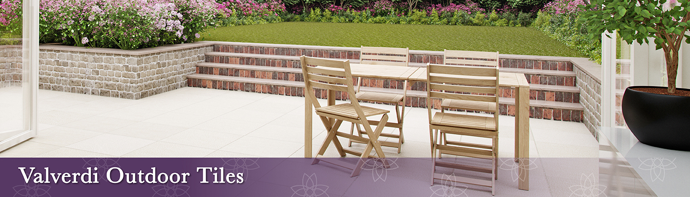 Valverdi outdoor tiles for patios, terraces, balconies